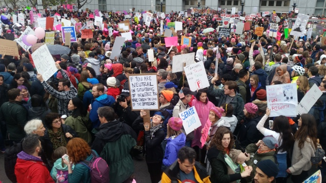 Women Across Nation March on Washington:
